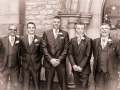 Groomsmen, Mark-Claire, Wedding Photography, Bishop Auckland, County Durham