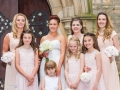 Bridemaids, Mark-Claire, Wedding Photography, Bishop Auckland, County Durham