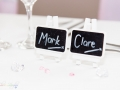 Wedding Table Favours, Mark-Claire, Wedding Photography, Bishop Auckland, County Durham