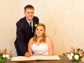 07-Andrew&Emma - Wedding Signing Register, Richmond Register Office, Yorkshire