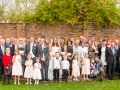 Antony & Becky- Family Wedding Photos, Durham
