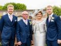 02-Connor-Heather- Wedding Photography Groom Prep Spennymoor Durham