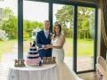 59-Connor-Heather- Wedding Cake Cutting Bowburn Hall, Durham