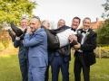 11-Craig-Ashleigh-Crab-Manor-Thirsk-Wedding-Photography-Groom-Fun-Lift