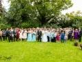 31-Gavin&Rachel, Wedding Party Group Photo, Bishop Auckland, Durham