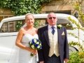 Farther of the Bride - Guy & Nicola - Manor House, Bishop Auckland - Local Photographer - 032
