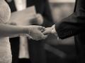 Exchange of Rings - Guy & Nicola - Manor House, Bishop Auckland - Wedding Photographer - 088