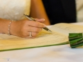 Signing of the Register - Guy & Nicola - Manor House, Bishop Auckland - Wedding Photographer - 120