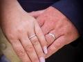 Wedding Rings - Guy & Nicola - Manor House, West Auckland - Wedding Photography - 304