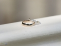 Wedding Rings - Guy & Nicola - Manor House, West Auckland - Wedding Photography - 305
