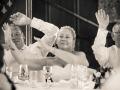 Wedding Breakfast - Guy & Nicola - Manor House, West Auckland - Wedding Photography - 397