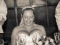 Wedding Breakfast - Guy & Nicola - Manor House, West Auckland - Wedding Photography - 545