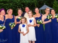 Bridal Party - Guy & Nicola - Manor House, West Auckland - Wedding Photography - 560
