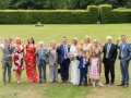 19-Ian & Sue - Wedding Photography Group Family Photo, Headlam Hall Hotel Lawn, Darlington, Durham
