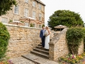 21-Ian & Sue - Wedding Photography, Headlam Hall Hotel Steps, Darlington, Durham
