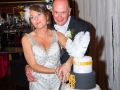 John & Gill Wedding Cutting Cake, Bishop Auckland Photography
