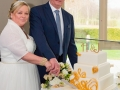 25- John & Heather- Wedding Photography, Cake Cutting