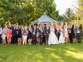 21-Mark&Lysa, Wedding Party Group Photo, Durham