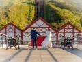 33-Matthew & Deborah- Wedding Photographer, Saltburn Pier