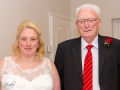 Bride & Father of the Bride, Paul & Faye - Wedding Photographer County Durham