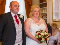 Bride & Groom, Paul & Faye - Wedding Photography, Barnard Castle, Durham Registry Office