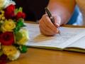 Signing of the Register, Barnard Castle Registry Office, Paul & Faye - Wedding Photographer, Barnard Castle, Registry Office