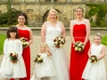 Bridesmaids, Bowes Museum, Paul & Faye - Wedding Photographer, Bowes Museum, Barnard Castle