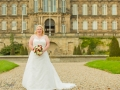 Bride, Bowes Museum, Paul & Faye - Wedding Photographer, Bowes Museum, Barnard Castle