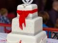 Wedding Cake, Paul & Faye - Wedding Photographer, Bowes Museum, Barnard Castle