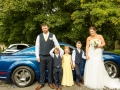 23-Ryan & Emma- Ford Mustang Wedding Photography Bishop Auckland, Durham