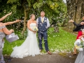 35-Ryan & Emma- Wedding Photographer Bishop Auckland, Durham Confetti
