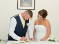 36-Ryan & Emma- Signing Register Wedding Photographer Bishop Auckland, Durham