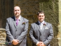 Groom & Best Man, Wedding Photography, Bishop Auckland, County Durham