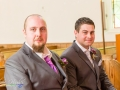 Groom & Best Man, Steve & Jasmin, St Cuthberts Church, High Etherley, Bishop Auckland Wedding Photography