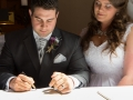 Signing of the Register, Steve & Jasmin, St Cuthberts Church, High Etherley, Bishop Auckland Wedding Photography