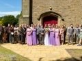 Wedding Party, Steve & Jasmin, St Cuthberts Church, High Etherley, Bishop Auckland Wedding Photography