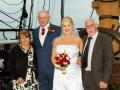 18- Tracey & Gerard- Wedding Photography, HMS Trincomalee