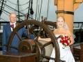 19- Tracey & Gerard- Wedding Photography, HMS Trincomalee