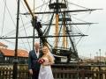21- Tracey & Gerard- Wedding Photography, HMS Trincomalee