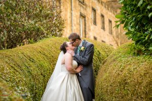Jason&Steph Bride and Groom Portraits- Lumley Castle Wedding Photography, Durham