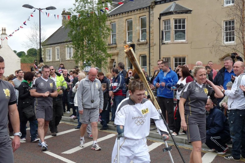 Olympic Torch - Bishop Auckland
