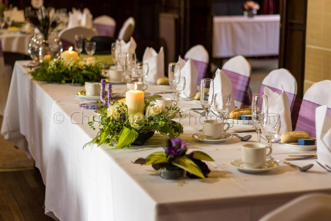 Wedding Decor - Top Table