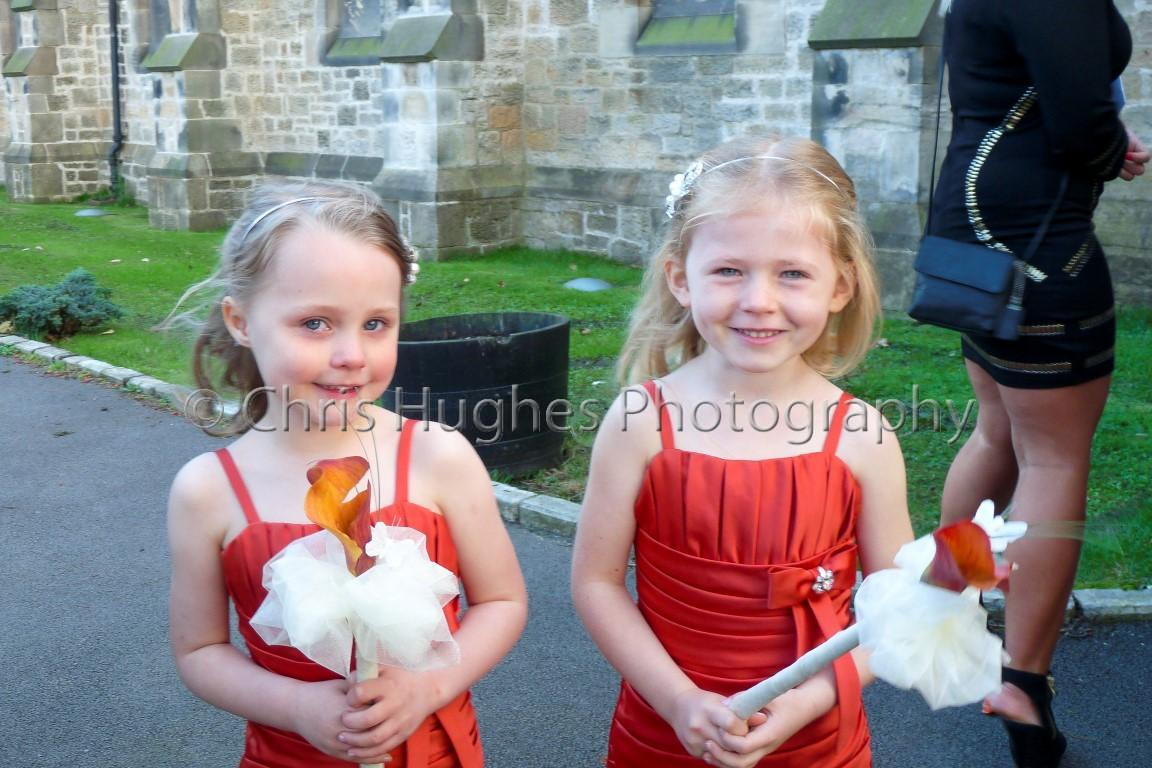 Flower Girls - Wedding Photography