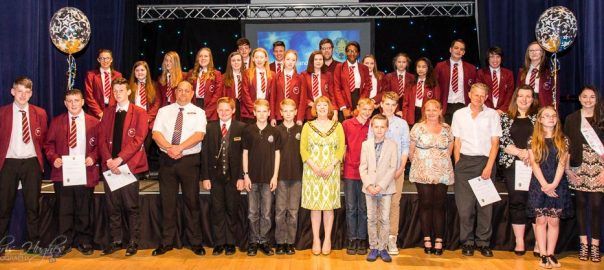 Bishop Auckland Youth Awards 2016 Nominees