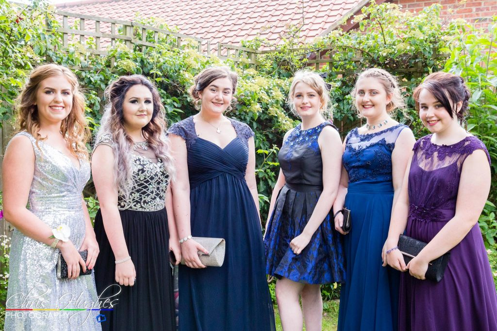Prom Photos Garden Party Darlington Chris Hughes Photography