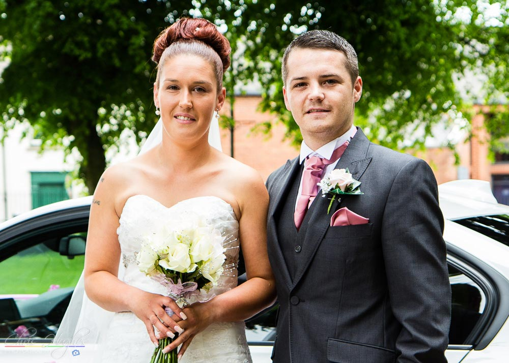Wedding Photography at St. John's Church, Shildon, Bishop Auckland