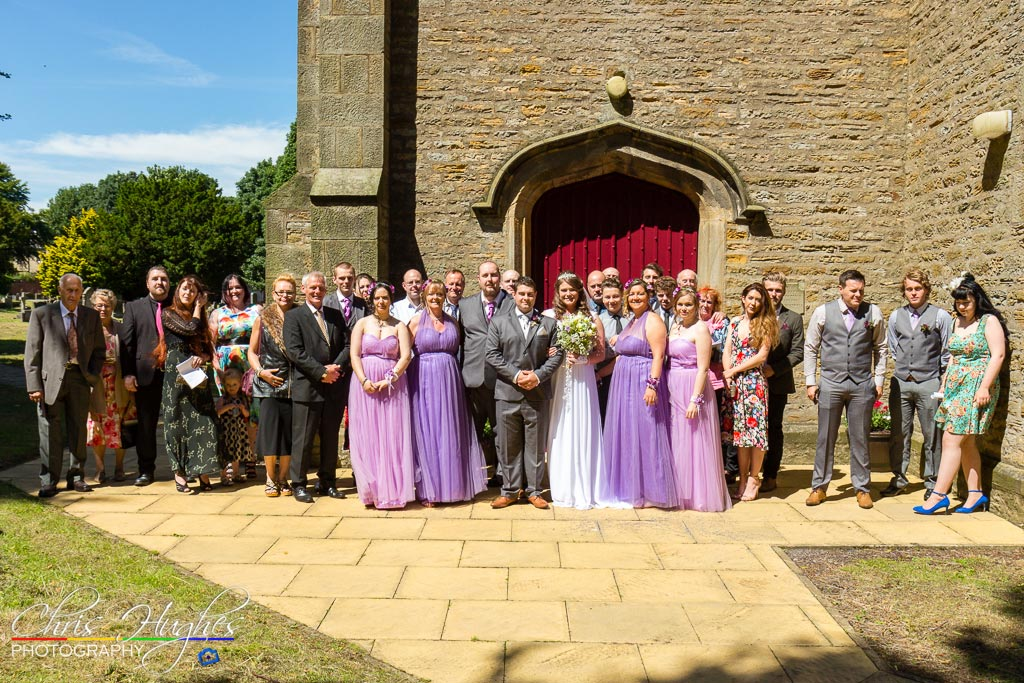 The Wedding Party - St Cuthberts, Bishop Auckland Wedding Photography