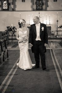 Bride & Groom, Wedding Photography, St James Church, Bishop Auckland