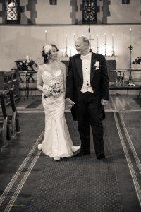 Bride & Groom, Wedding Photography, St James Church, Bishop Auckland