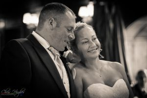 Exchanging Vows, Manor House Wedding, County Durham